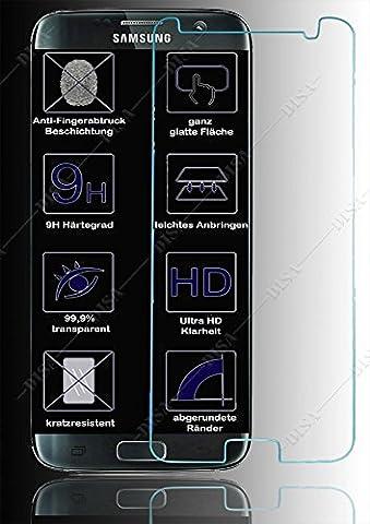 Panzerschutz Displayschutz für SAMSUNG GALAXY S7 vorne Schutzglas Panzerfolie Echtglas GLAS