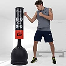 Gallant Free Standing Boxing Punch Bag 5.5ft Standing Boxing Punch Bag Ball MMA Kick Training Set