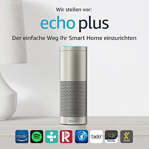 Wir stellen vor: Echo Plus - Mit integriertem Smart Home-Hub (silber) - 2