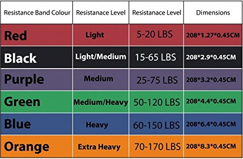 5-230-lbs-Resistance-Band-Loop-Exercise-Crossfit-Strength-Training-Gym-Fitness-extra-heavy-ORANGE