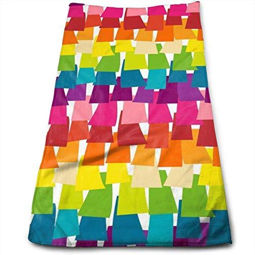 Osmykqe Rainbow Pinata Party Geschirrtücher Hochsaugfähig Geschirrtücher 27,5 X 12 Zoll
