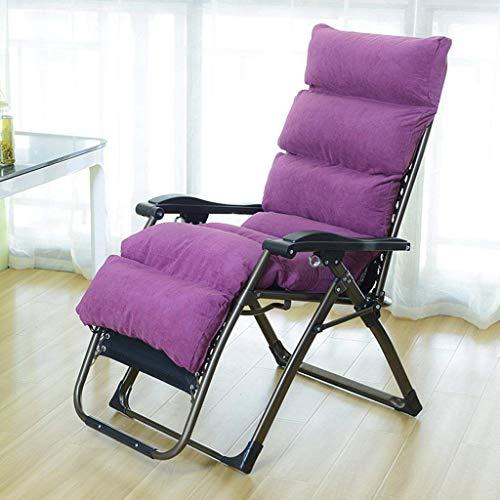 Eeayyygch pieghevole divano lazy camera da letto soggiorno mini bella leisure balcone individuale reclinabile (colore: blu) (colore : viola chiaro, dimensione : -)
