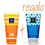 Apivita - Protector solar facial/cuerpo con lavanda de mar& porpóleo spf 30 suncare
