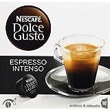 dolce gusto Dosettes de café moulu pur arabica, Espresso Intenso - ( Prix Unitaire ) - Envoi Rapide Et Soignée