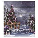ZHANGQI Treppen Aufkleber Weihnachten DIY Wohnzimmer Schlafzimmer Dekorative Treppenaufkleber Persönlichkeit Kreativ Restaurant Hotel Treppen Verkleiden Sich Aufkleber,100 * 18cm*6PCS