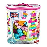 Mega Bloks Construx 900 DCH54 Big Building Bag, Pink