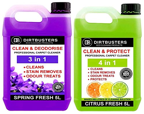 dirtbusters-clean-protect-concentrato-1-x-5-litri-clean-and-deodorise-1-x-5-professional-carpet-upho