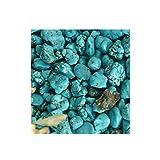Turchese naturale blu 50-70 Ct. Circa pietra preziosa allentata del turchese approssimativo di guarigione di cristallo dell'Arizona per pezzo