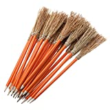 25 crayons fantaisie. 26 cm. Couleur orange
