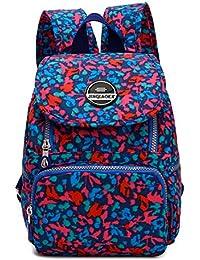 302334394c12 LifeWheel Womens Girls Lightweight Mini Backpack Waterproof Nylon Shoulder  Bag Casual Daypacks Schoolbag Small Rucksack