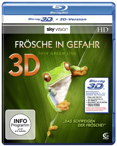 Frösche in Gefahr - Thin Green Line (SKY VISION) - Lenticular Edition [3D Blu-ray + 2D Version]