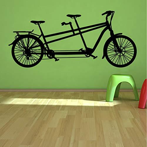em Fahrrad Wandaufkleber Freizeit Sport Wohnkultur Fahrrad Wandtattoos Wohnzimmer Schlafzimmer Kunst Wandbilder ()