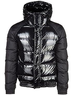 Dior cazadoras chaqueta de hombre plumíferos nuevo doudoune negro