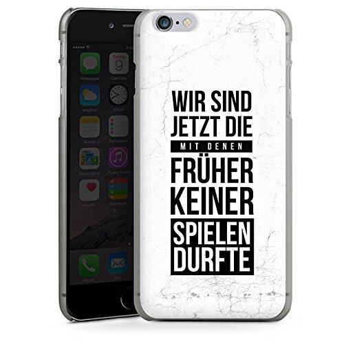 Apple iPhone X Silikon Hülle Case Schutzhülle Humor Spaß Sprüche Hard Case anthrazit-klar