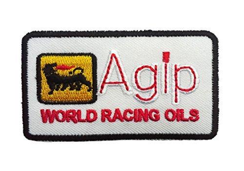 agip-racing-sponsor-logo-patch-10-04-x-6-cm-parche-parches-termoadhesivos-parche-bordado-parches-bor