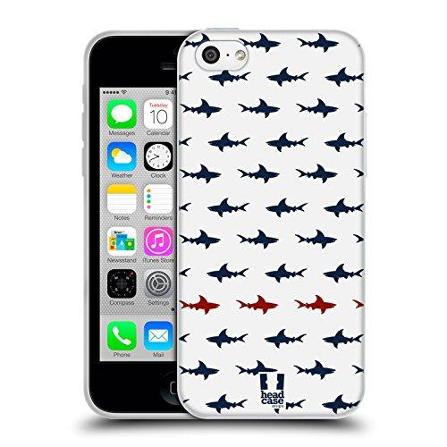 Head Case Designs Parallèle Requin - Motifs Étui Coque en Gel molle pour Apple iPhone 6 / 6s Parallèle