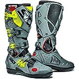 Sidi Crossfire SRS 2 noir/gris/Fluo moto bottes