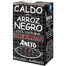 Aneto - Caldo Para Arroz Negro Con Sofrito De Pescado Y Marisco 1 L