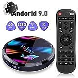 H96 Max X3 Android 9.0 TV Box [4GB RAM 128GB ROM] Amlogic S905X3 64-bit Quad Core ARM Cortex A55 2.4G/5G WiFi BT4.0 Ethernet 100/1000M USB 3.0/2.0 Smart TV Box