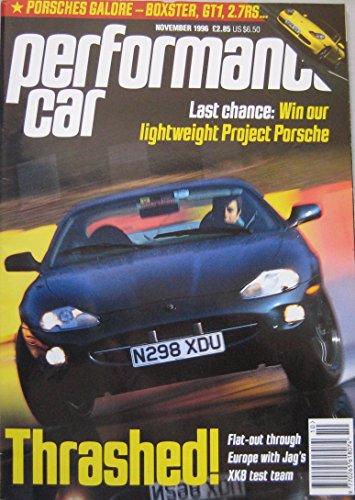performance-car-magazine-11-1996-featuring-jaguar-xk8-amg-e36-brabus-nissan-porsche