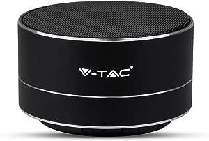 Mini Mikrofont Speaker Tragbar Mit Led Bluetooth Microfon Sd V Tac
