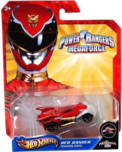 Hot Wheels Power Rangers Red Ranger Dragon Zord by Hot Wheels