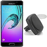 Samsung Galaxy A3 (2016) schwarz + KFZ Magnethalterung von Wicked Chili
