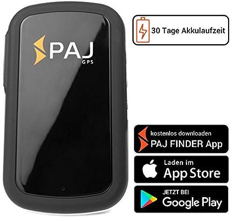 Allround Finder von PAJ GPS Tracker zur Live Ortung von Personen und Fahrzeug KFZ mit bis zu 30 Tagen Akku NEU Gratis SMS App für iOS und (Gps Tracker Für Kinder)
