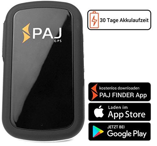 Allround Finder von PAJ GPS Tracker zur Live Ortung von Personen und Fahrzeug KFZ mit bis zu 30 Tagen Akku NEU Gratis SMS App für iOS und Android