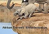 Afrikas Tierwelt: Elefantenbabys (Wandkalender 2019 DIN A3 quer): Besondere Momente der kleinen grauen Riesen (Monatskalender, 14 Seiten ) (CALVENDO Tiere)