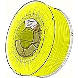 Minadax® 1kg Calidad Premium de 1,75mm ABS Filamento Amarillo FLOURESZIEREND para impresora 3d fabricado en Europa
