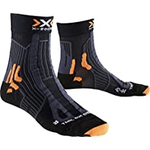 X-Sock Trail Run Energy, Calcetines, Hombre, Negro (Negro/gris