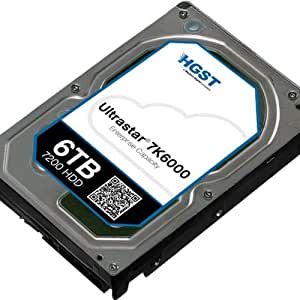 HGST, a Western Digital Company ULTRASTAR 7K6000 5000GB 7200RPM SATA 512E ULTRA ISE 128MB Cache 3.5-Inch Internal Bare or OEM Drives 0F23003