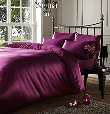 Mario Brazzi Satin Faux Silk Bedding Set produced by SHF Luton - quick delivery from UK.