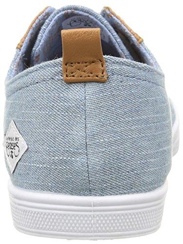 Le Temps des Cerises Ltc Basic 02 - Sneaker Donna Blu (Bleu (Fancy Chambray))