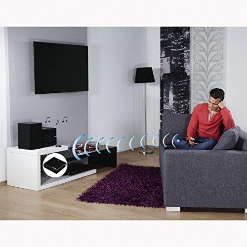 Hama   Bluetooth 4 0  Audio Music Receiver Adapter   Wireless Music Streaming   aptX  10  Meter Range     12  Hours Audio Playback     Black