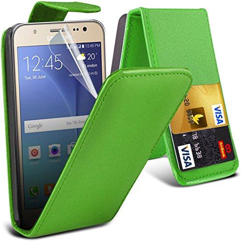 Hülle für Samsung Galaxy J7 / Samsung Galaxy J7 SM-J700F Case Universal Car Phone Halter Halterung Cradle-Dashboard & Windschutz für iPhone yi -Tronixs Leather Flip ( Hot Pink )