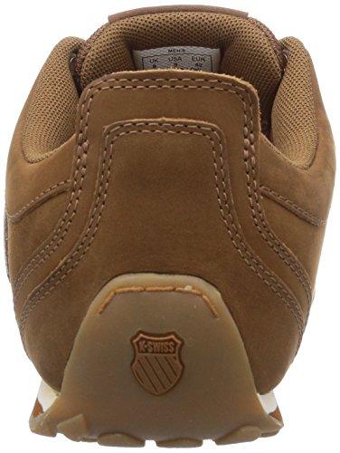 K-Swiss Herren Arvee 1.5 Low Sneakers Braun (Cognac/Saddle/Antique White 213)