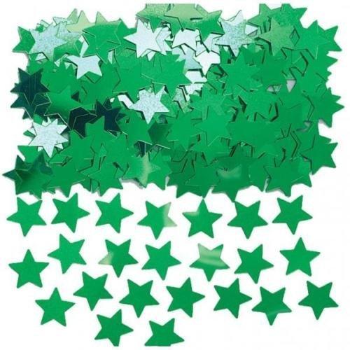 Amscan International Sternenstaub Grün Sterne Tisch Konfetti Streuseln 14g (5er Pack)
