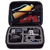 Plus Carrying Case Protective Camera Storage for GoPro Hero 5, Hero 6 Hero 7 2018 Black (Medium Size)