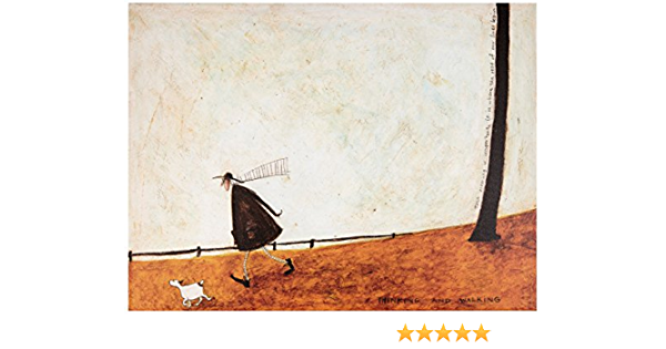 Sam Toft Print We Sat and Watched but not a Soul was About 60x80cm