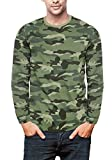 #9: Krystle Men's Cotton Camouflage / Army T-Shirt Full Sleeve Round Neck