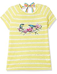Lee Cooper Girls' Striped Regular Fit T-Shirt