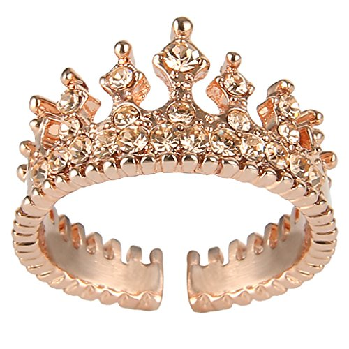 clearine-mujer-delicate-elegante-cristal-champion-crown-tiara-open-end-cocktail-anillo-rose-oro-tono