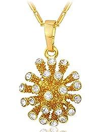 MESE London Collar de Mar de Estrellas de Mar Chapado en Oro 18ct The Lifebringer