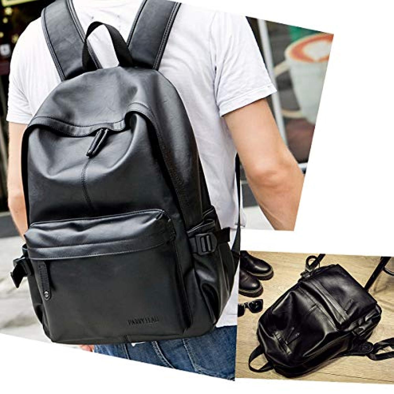 01607bec37 OURBAG Sac à Dos Fonctionnel Knapsack Backpack en cuir vintage pour ...