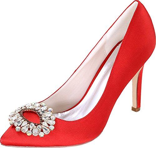 Salabobo Sandales Compensées Femme red