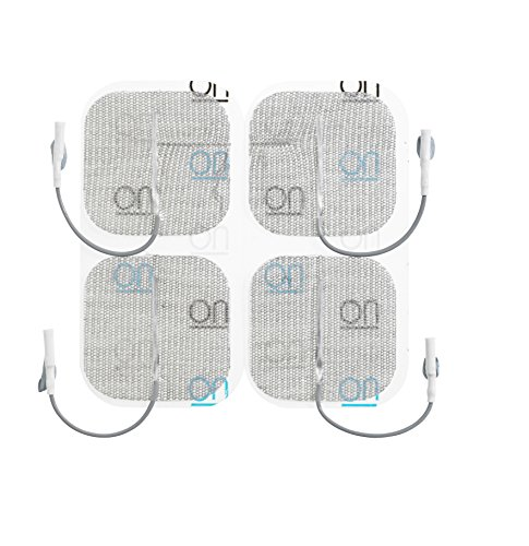 PALS - Electrodos autoadhesivos (5 x 5 cm, 4 unidades)
