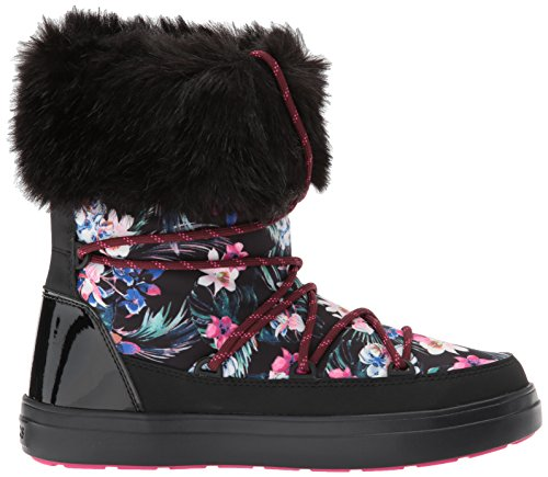 Crocs Lodgeptgrpbtw, Stivali De Neve Donna Multicolore (tropical / Noir)