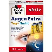 Doppelherz Augen Extra Tag + Nacht – Nahrungsergänzungsmittel mit Vitamin A & Zink als Beitrag für den Erhalt... preisvergleich bei billige-tabletten.eu